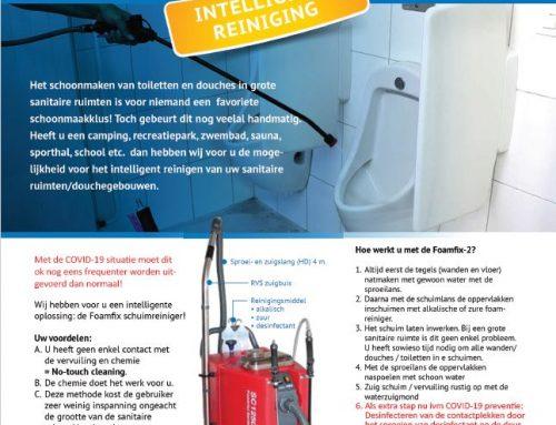 Intelligente reinigingsoplossing nodig?